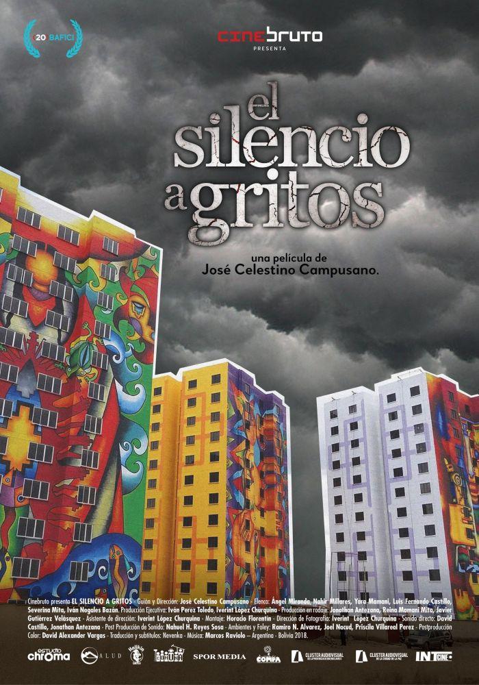 El silencio-a-gritos-poster
